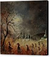 Hobglobins At Night Canvas Print