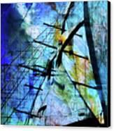 Hoist Canvas Print by Monroe Snook