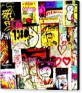 Hola Barcelona Canvas Print