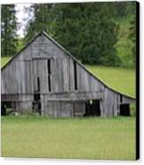 Holey Old Barn  Washington State Canvas Print