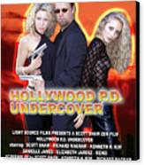 Hollywood P.d. Undercover Canvas Print by The Scott Shaw Poster Gallery