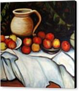 Homage To Cezanne Canvas Print