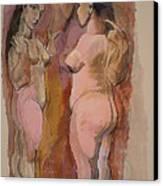 Homage To Pablo Canvas Print