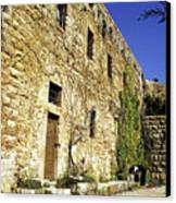 Home Of The Famous Lebanese-american Poet And Artist Khalil Gibran Canvas Print by Sami Sarkis