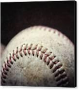 Home Run Ball Canvas Print by Lisa Russo