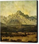 Home Series - The Grandeur Canvas Print by Brett Pfister