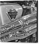 Honda Cl450 Scrambler Canvas Print by William Jones