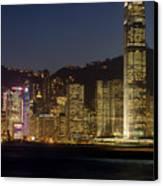 Hong Kong Harbor December 1 Canvas Print