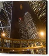 Hong Kong Steel Buildings Canvas Print