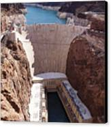 Hoover Dam II Canvas Print by Ricky Barnard