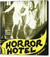 Horror Hotel, Aka City Of The Dead Canvas Print