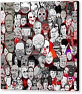 Horror Icons Canvas Print