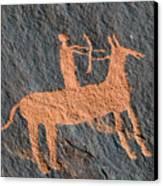 Horse And Arrow Canvas Print