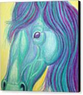 Horse Profile Canvas Print