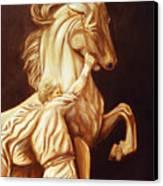 Horse Statue Canvas Print