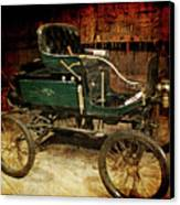Horseless Carriage Canvas Print by Ernie Echols