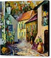 Hot Noon Original Oil Painting  Canvas Print