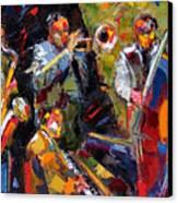 Hot Quartet Canvas Print