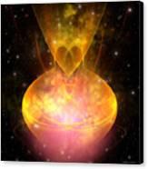 Hourglass Nebula Canvas Print