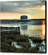 House At The End Of The Pier II Canvas Print by Steven Ainsworth