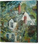 House In Gorham Canvas Print