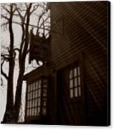 House Of Seven Gables Canvas Print