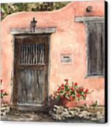 House On Delgado Street Canvas Print