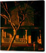 House On Haunted Hill Canvas Print by David Lee Thompson