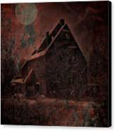 House With A Story To Tell Canvas Print by Mimulux patricia no No