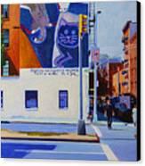 Houston Street Canvas Print