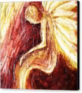 Hoy Manana Y Siempre Canvas Print