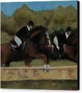 Hunt Scene Canvas Print