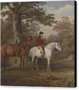 Hunter And Huntsman Canvas Print