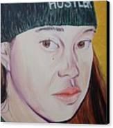 Hustler Girl Canvas Print