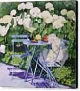 Hydrangeas At Angele Canvas Print by Gail Chandler