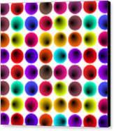 Hypnotized Optical Illusion Canvas Print