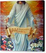 I Am The Resurrection Canvas Print