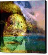 I Ini O Ka Naau Canvas Print