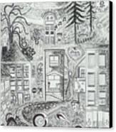 I Love Jerome Az Canvas Print
