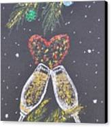 I Love You Canvas Print by Georgeta  Blanaru