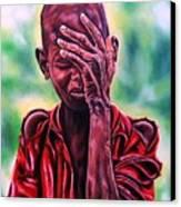 I Must Go On Canvas Print by Shahid Muqaddim