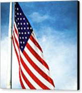 I Pledge Allegiance Canvas Print by Shelby  Young