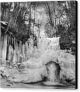 Ice Castle Canvas Print