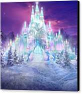 Ice Castle Canvas Print by Philip Straub