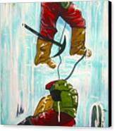 Ice Climbers Canvas Print