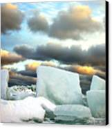 Ice Henge Canvas Print by David April