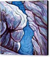 Icebox Canvas Print