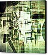 Identity In Uninterrupted Mutation Canvas Print by Paulo Zerbato