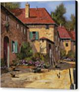Il Carretto Canvas Print by Guido Borelli
