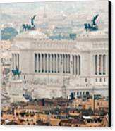 Il Vittoriano Canvas Print by Andy Smy